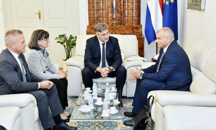 Plenković razgovarao s predstavnicima Hrvata u Sloveniji i Crnoj Gori